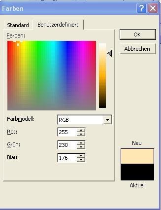 Besch Farbe wie bekomme ich die farbe beige bzw sand hin mit acrylfarben