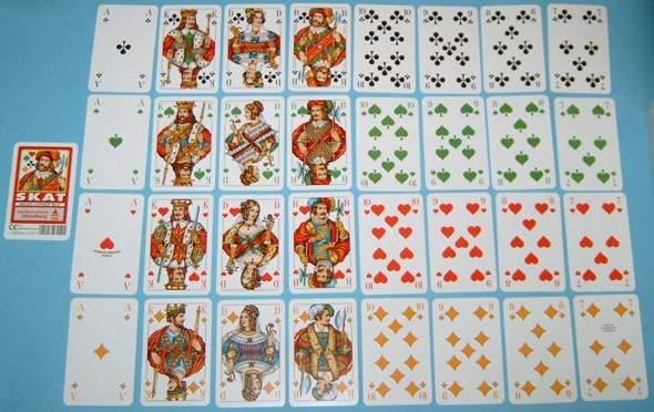 Wieviel Karten Hat Ein Skatspiel