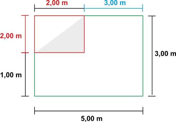 Wand - (Berechnung, Malerarbeiten)