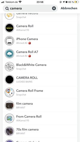 - (Handy, Smartphone, Snapchat)