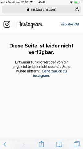 Wie kann ich jemanden blockieren der mich blockiert hat instagram