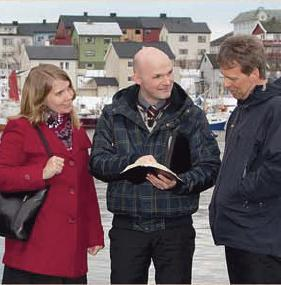Jehovas Zeugen predigen in Norwegen - (Gott, Jehova)