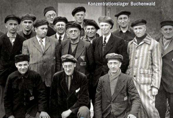 Un das sind einige unserer Brüder aus dem KZ Buchenwald - (Gott, Jehova)