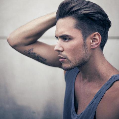Frisur Männer Oben Lang Seiten Kurz