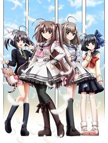 Oretachi ni Tsubasa wa nai - (Anime, Romantik, auf deutsch)