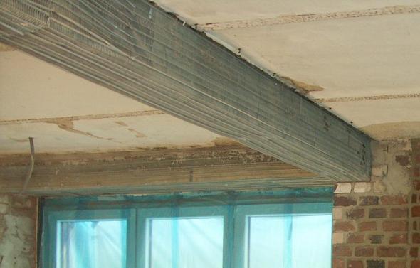Stahlträger Verkleiden strahlträger verputzen decke bauen handwerk metall