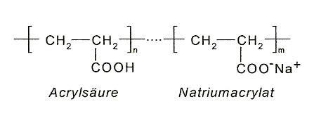 Das hier musst Du als Polymer darstellen+ Querverbindungen! - (Chemie, moleküle)