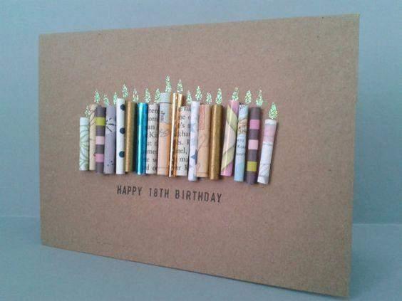 Geburtstagskarten zum 18 geburtstag