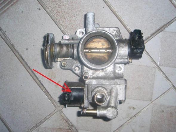 Leerlaufregler - (Auto, Mazda, Mazda 323 1.5F BJ 1999)