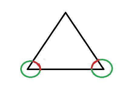 hier das drei - (Mathematik, Dreieck, Winkel)