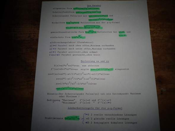 - (Mathe, Mathematik, Lösung)