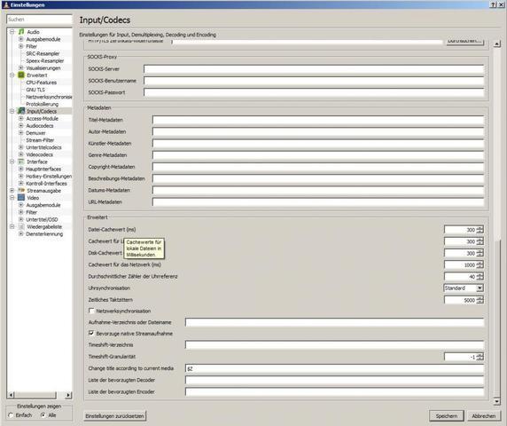 VLC-Cache_neu - (PC, Video, Windows)