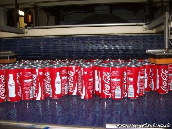 Dosenproduktion - (Firma, Cola, Dose)