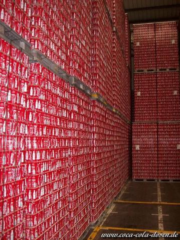Dosenlager - (Firma, Cola, Dose)