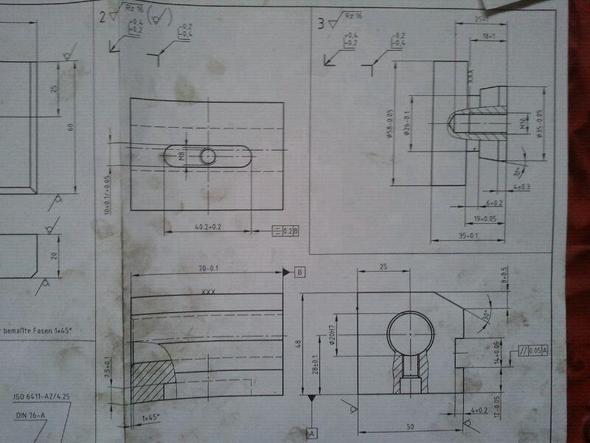 Frästeil 1 - (Ausbildung, Prüfung, Zerspanungsmechaniker)