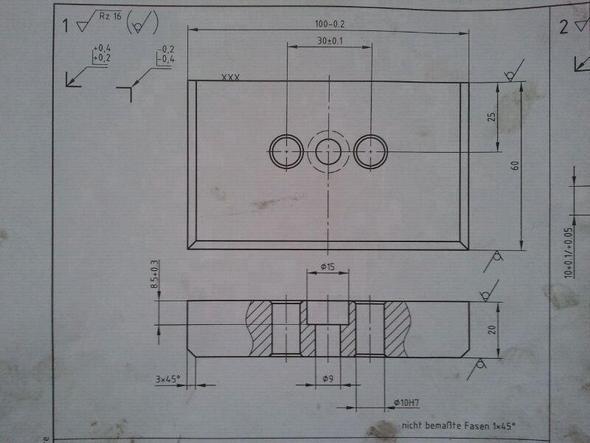 Frästeil 4 - (Ausbildung, Prüfung, Zerspanungsmechaniker)