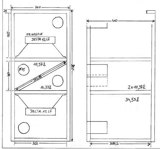 was ist die beste geh useform f r subwoofer pa anlage tontechnik lautsprecher. Black Bedroom Furniture Sets. Home Design Ideas