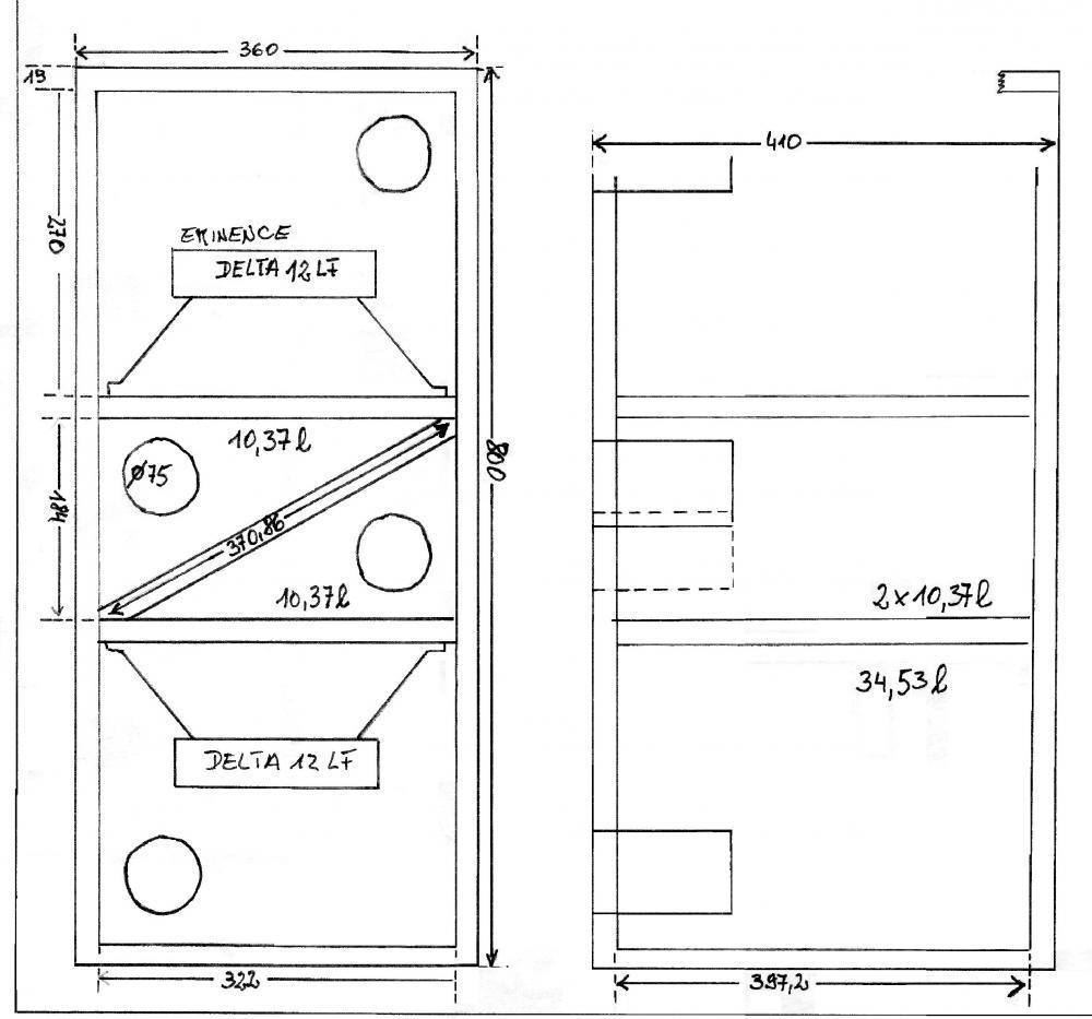 was ist die beste geh useform f r subwoofer lautsprecher anlage tontechnik. Black Bedroom Furniture Sets. Home Design Ideas