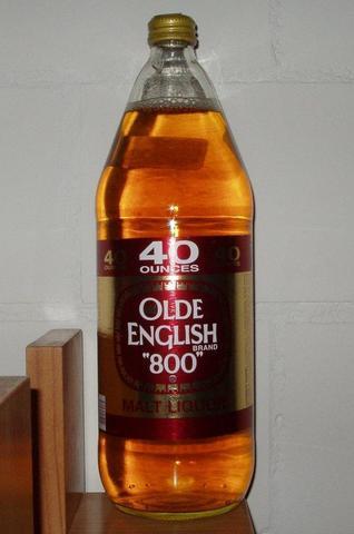 Miller USA Olde English Beer - (Film, Bier, Flasche)