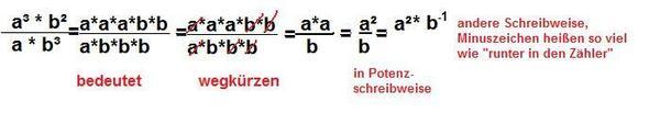 Potenzschreibweise - (Mathe, Mathematik, potenz)