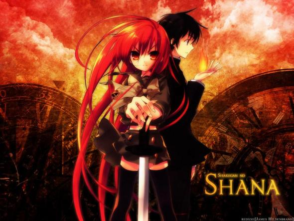 Shakugan no Shana - (Anime, Romantik)