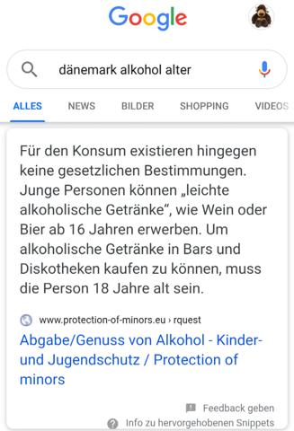 Ab wie viel Jahren darf man in Dänemark Bier kaufen?n ...