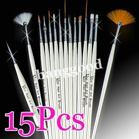 nail art brushes (nail art Pinsel) - (Beauty, Nagellack)