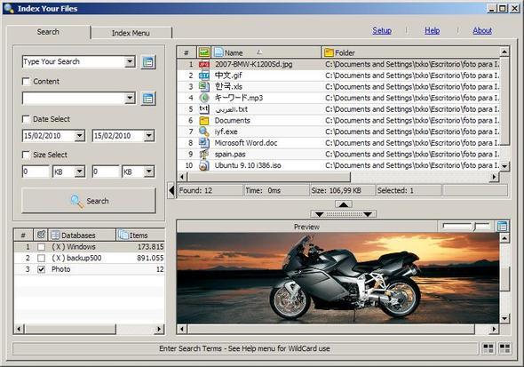"""""""Index Your Files"""": portable kostenlose Software zur Dateiensuche in Netzwerken - (Software, Archivierung)"""