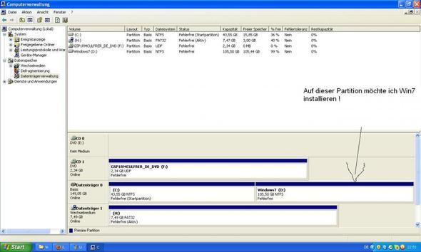 Datenträgerverwaltung - (Computer, Windows, Windows 7)