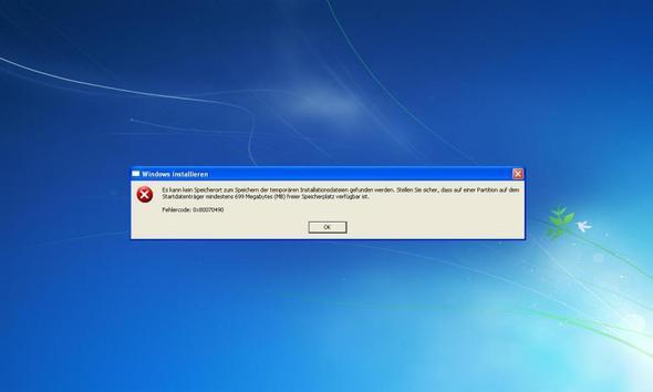 Fehlermeldung - (Computer, Windows, Windows 7)