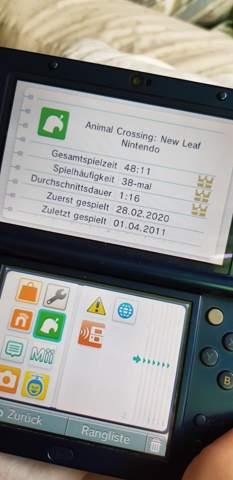 - (Spiele und Gaming, Animal-Crossing, Spielzeit sehen)