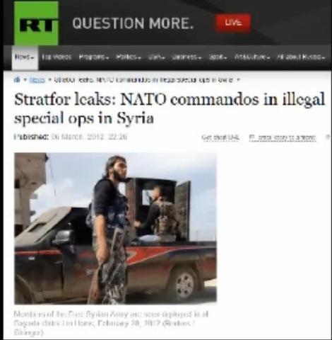 NATO commandos in Syrien - (Geschichte, Lügen)