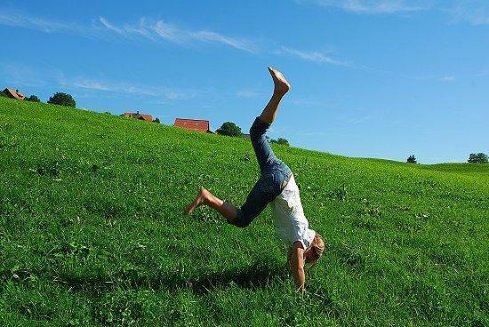 Handstand - (Depression, müdigkeit, Traurigkeit)