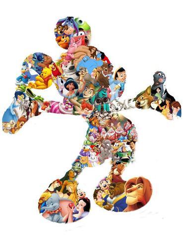 Micky Maus Disneyfiguren - (Präsentation, Disney)