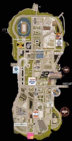 Love Media  Donalds Wolkenkratzer (Pink LM) - (gta, Rockstar Games, GTA 3)