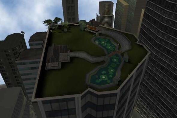 Donalds Dachgarten - (gta, Rockstar Games, GTA 3)