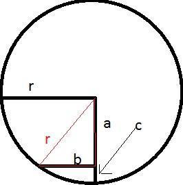 Kreis - (Mathe, berechnen, Pythagoras)