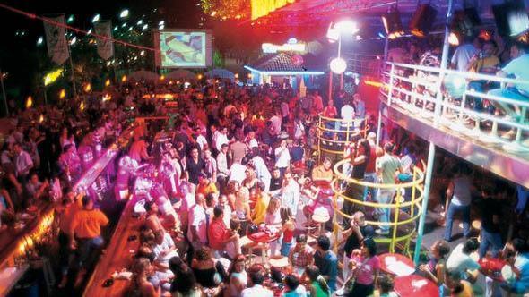 Party Alanya Hafen - (Urlaub, Party, Türkei)