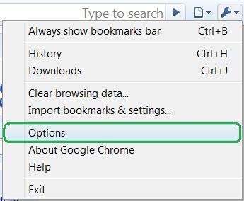 Optionen - (Computer, Google)