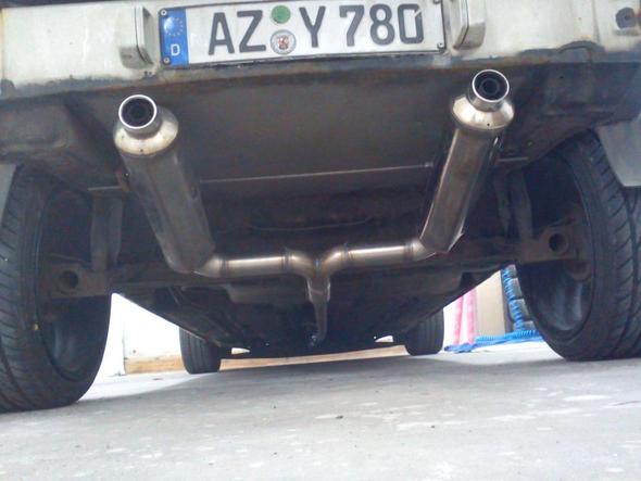2x Suziki 600 GFS Bandit unter Polo 86c - (Auto, KFZ, Tuning)