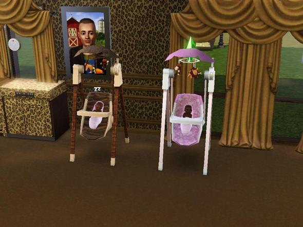 Babywippe - (PC-Spiele, Kinder, Sims)