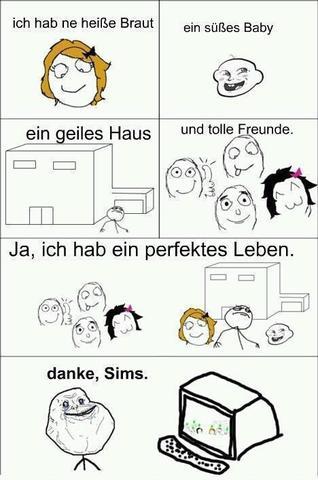 ein Bild zu den Sims ... - (Games, Sims)