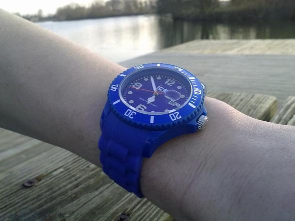 Ice watch blau BIG  - (Computer, Größe, ice-watch)