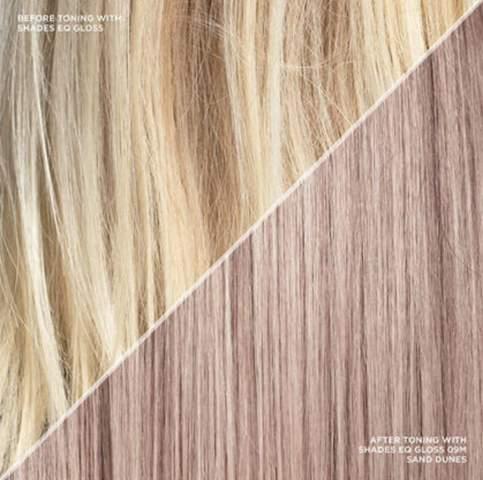 Dunkelblond färben haare blondierte Von braun