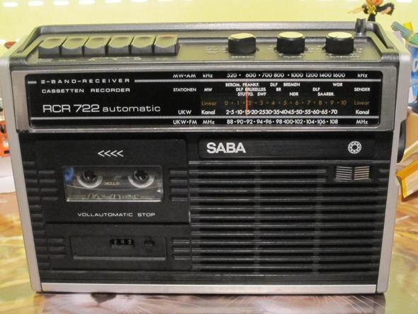 SABA RCR 722 - (Musik, Elektronik, Kosten)
