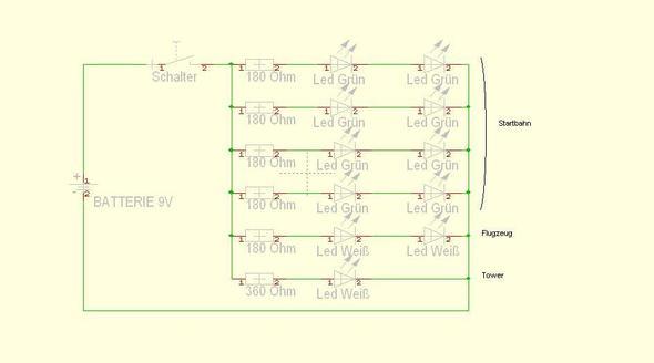Schaltplan - (Elektronik, Strom, LED)