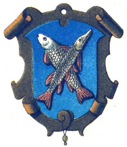 Zunftzeichen Fischer - (Fische, Restaurant, Angel)