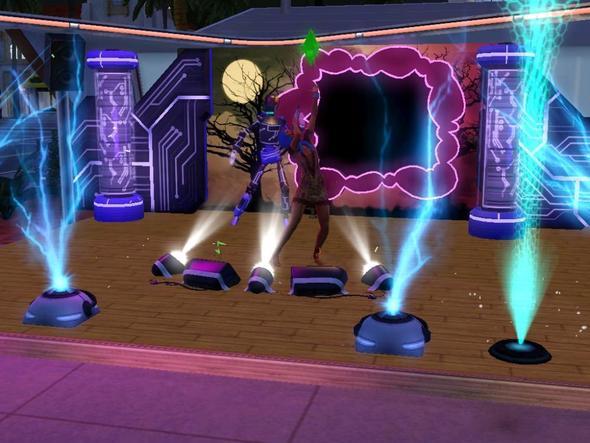 Auftritt als Sängerin - (Sims 3, showtime)