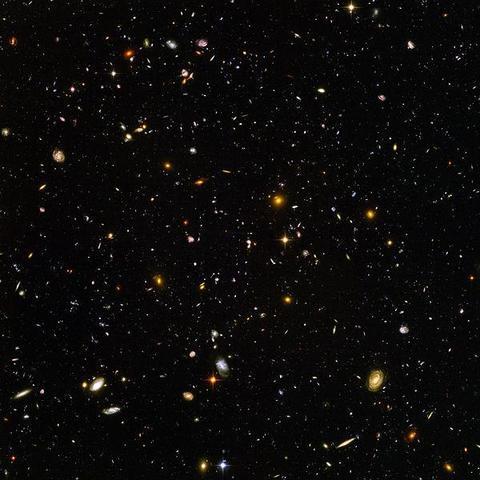 Tiefes Universum (Nachklang)  - (Freizeit, Leben, Philosophie)