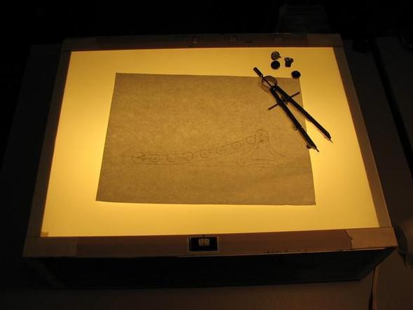 Lightbox - (Kunst, zeichnen, malen)